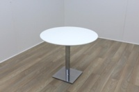 White Round Table 900mm - Thumb 2