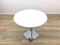 Light Grey Round Table 800mm - Thumb 3