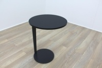 Brunner Black Round Coffee Table - Thumb 2