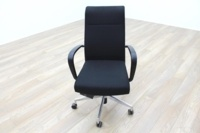 Kusch Co Black Fabric High Back Multifunction Office Task Chair - Thumb 2