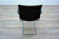 Black Mesh / Fabric Cantilever Office Meeting Chairs - Thumb 5