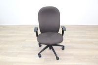 Verco Brown Fabric Operator Chair - Thumb 4