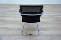 Sitland PK Passe Partout Black Mesh Office Meeting Chairs - Thumb 5