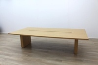 Sven Christiansen Solid Oak Office Meeting Table - Thumb 5
