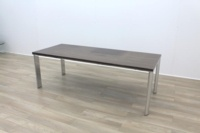 Zebrano Rectangular Office Meeting Table - Thumb 5