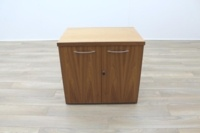 Sven Christiansen Solid Walnut Executive Office Storage Cupboard / Credenza - Thumb 2