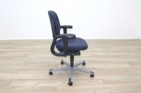 Ahrend Blue Fabric Operator Chair - Thumb 6