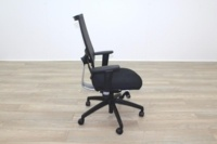 Task Black Mesh Black Fabric Operator Chair - Thumb 6