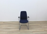 Blue Stacking Meeting Chairs - Thumb 2