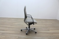 Wilkhahn FS Line Grey Leather Executive Office task Chair - Thumb 6