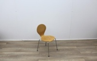Wooden Canteen Chairs With Chrome Legs - Thumb 6