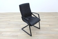 Sitag High Back Black Leather Executive Office Meeting Chair - Thumb 2