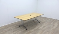 Maple Rectangular Meeting Table - Thumb 2