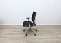 Senator Operator Chairs With White Back And Fabric Seat - Thumb 4