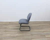 Grey Meeting Chairs With Black Frame - Thumb 4