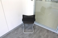 Meeting Chairs With Mesh Back and Fabric Seat - Thumb 4
