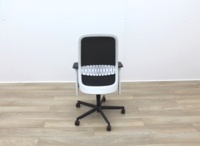 Bene Operator Chair With Grey Seat and Black Mesh Back - Thumb 5