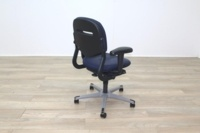 Ahrend Blue Fabric Operator Chair - Thumb 7