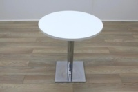 White Round Table 700mm - Thumb 3