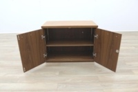 Sven Christiansen Solid Walnut Executive Office Credenza / Storage Cupboard - Thumb 3