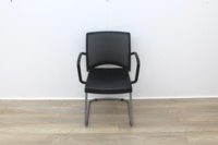 Herman Miller Meeting Chair Mesh Back/Leather Seat - Thumb 2