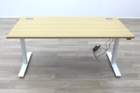 New Cancelled Order Electric Height Adjustable Sit Stand Office Desks - Thumb 3