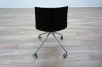 Aper Catifa 46 Black Plastic Office Meeting Chairs - Thumb 5
