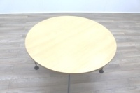 Vitra Adhoc Maple Round Coffee Table - Thumb 4