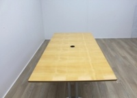 Maple Rectangular Meeting Table - Thumb 4