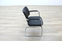 Boss Design Black Leather Executive Office Meeting Chairs - Thumb 6