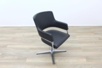 Brunner Grey Leather Executive Meeting Chair - Thumb 5