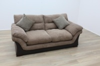 Brown Fabric Sofa - Thumb 3