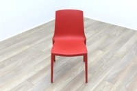 Brunner Red Polymer Canteen Chair - Thumb 2