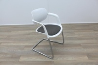 Allermuir A781 White with Grey Seat Meeting Chair - Thumb 5