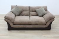 Brown Fabric Sofa - Thumb 4