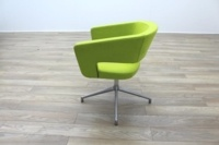 Boss Design Green Fabric Office Reception Tub Chairs - Thumb 6