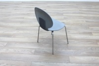 Galvano Tecnica Grey Italian Stackable Office Canteen Chairs - Thumb 7