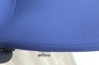 Ahrend Blue Fabric Meeting Chair - Thumb 8