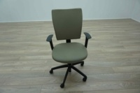 Connection Seating Off Grey Multifunction Office Task Chairs - Thumb 3