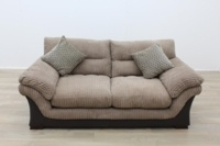 Brown Fabric Sofa - Thumb 5
