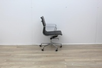 Black Leather Elite Executive Chair - Thumb 3