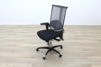 HAG H09 Inspiration Black Fabric Executive Office Task Chair - Thumb 4