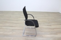 Ahrend Black Fabric High Back Office Meeting Chairs - Thumb 6