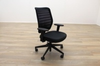 Senator Fuse Black Mesh Multifunction Office Task Chair - Thumb 4