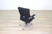 President Black Fabric Executive Office Task Chair - Thumb 6