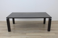 Wenge Rectangular Meeting Table 2000mm - Thumb 3