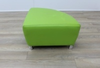 Boss Green Leather Reception Soft Chair - Thumb 3