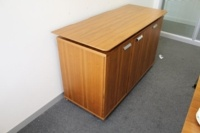 Walnut Verco Executive Office Storage / Credenza Cupboard - Thumb 3