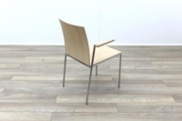 Brunner Oak Meeting Chair with Armpads - Thumb 7