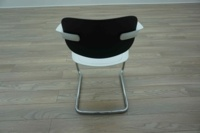 Allermuir A783 White / Black Office Stacking Meeting Chairs - Thumb 5